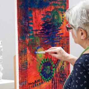Intuitive-Malerei, Malerei für Erwachsene, Zeichnen,Sora-Otterberg, Malschule, Kunstschule, Kaiserslautern, Otterberg, Rheinland-Pfalz