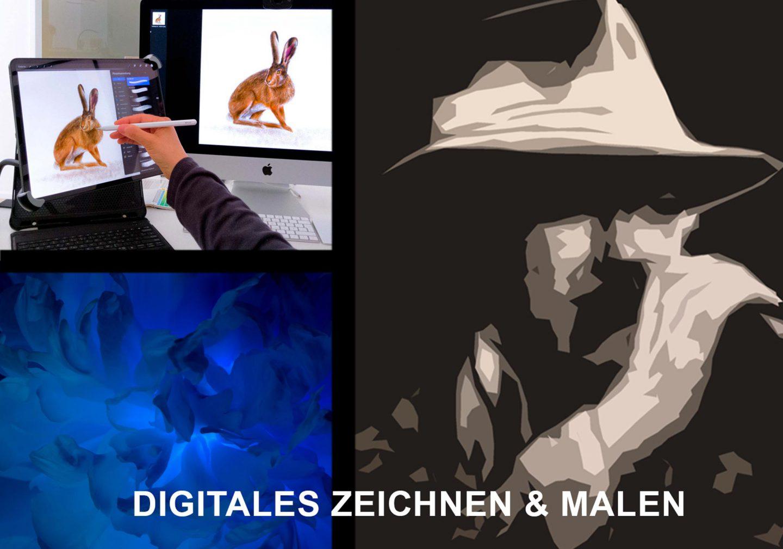 digitales Zeichnen, Digital Malen, Sora-Otterberg